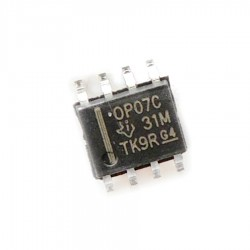 OP07 - Ultralow Offset Voltage Operational Amplifier Op-Amp - SMD Package