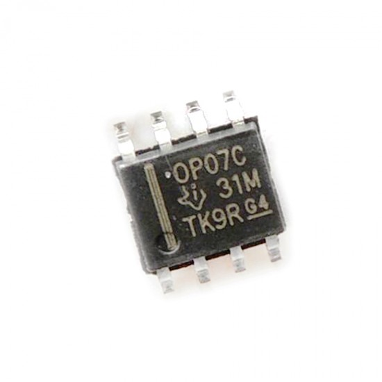 OP07 - Ultralow Offset Voltage Operational Amplifier Op-Amp - SMD Package