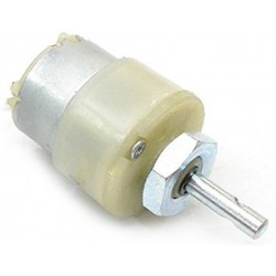 Geared Motor Plastic Body Centre Shaft