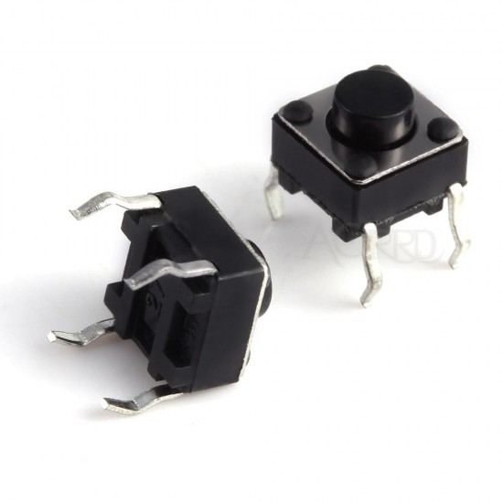 Switch Pushbutton Tactile-Micro Switch - 5mm  4 pin