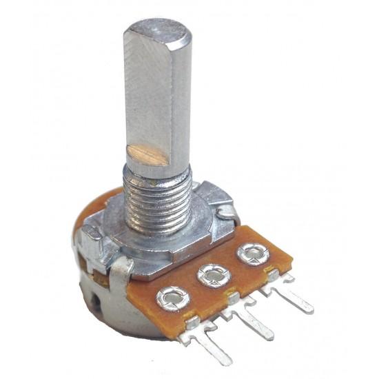 Rotary Potentiometer Single Deck -Metal Shaft Variable Resistance