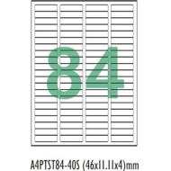 A4 label Sticker Paper ST84A4100,84Label - 25pcs pack