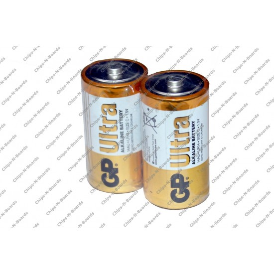 Godrej GP C Type Alkaline Battery Cell - Pack of 2pcs