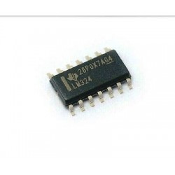 LM324 Low Power Quad Operational Amplifier Op-Amp -SMD Package