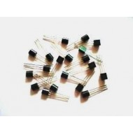 Mixed Transistor Pack of  50 Pcs - 5 pcs Each of - 2N3904  2N3906  BC547  BC548  BC549  BC557  BC558  BF494  BD139  BD140