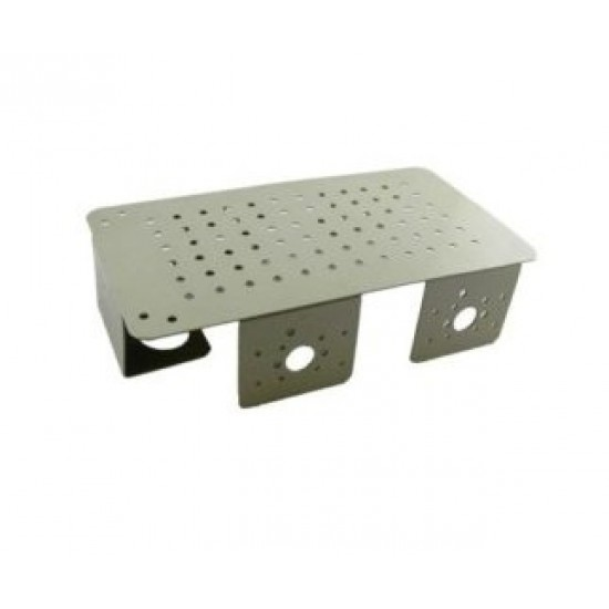 Chassis for Robot - Powder Coated White 19.5cm X 10.5cm X4.5cm