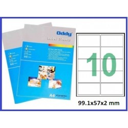 A4 label Sticker Paper ST10A4100,10Label - 25pcs pack