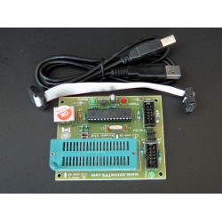 USBASP AVR Programmer with Acceptor,FuseBit Set Function