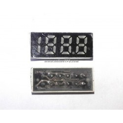 Three and Half -Seven Segment LED Display Module Size 1cm