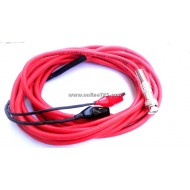 BNC Connector to Crocodile Clip Cable Length 3m