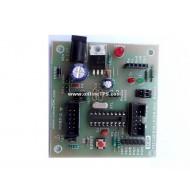 Microchip PIC 18 Pin DIP IC Development Board For 16f84a/16f628 alike