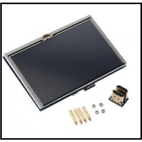 5 Inch Touch Screen HDMI TFT LCD for Raspberry Pi 2 Model B with Stylus Pen