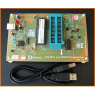 AT89C51,52,S51,S52 8051 and EEPROM Programmer (Upto Windows7)