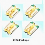 SMD LED Clear 1206 Package Pack of 10