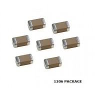 SMD Ceramic Capacitor Pack of 10 Pcs 1206 Package