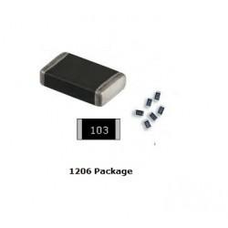 SMD Resistances 1/4 Watt Tolerance 1%  (10 Pc) 1206 Package