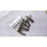 Mixed SMD Electrolytic Capacitor Pack of- 40 pcs - 5 PCS Each of - 1uf/50v 10uf/16v 2.2uf/50v 4.7uf/35v 100uf/16v 220uf/16v 470uf/16v 1000uf/10v