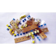 Mixed BOX Capacitor Pack of - 50 pcs - 5pcs each of - 103J100V  223J100V 472J100V  224J100V  102J100V  68nj63v  1nk63v  4n7j100v  474J100V  10nf